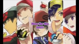 Top 15 Strongest Pokemon Trainers {Games}