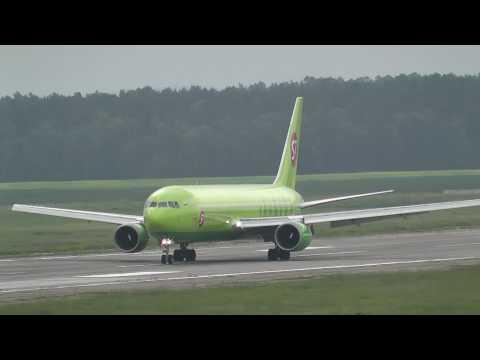 Споттинг в Аэропорту Иркутск (только самолеты) HD