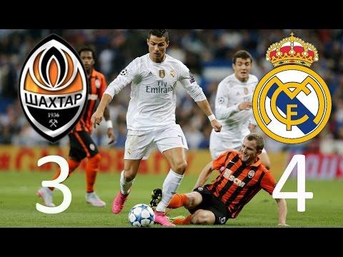 Шахтер Донецк - Реал Мадрид 3:4 Видео обзор голов матча 25.11.2015 Shakhtar vs Real Madrid