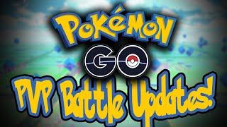 Pokemon Go PvP gameplay update!