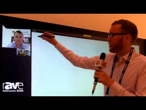 InfoComm 2015: Microsoft Demonstrates Surface Hub Collaboration Device