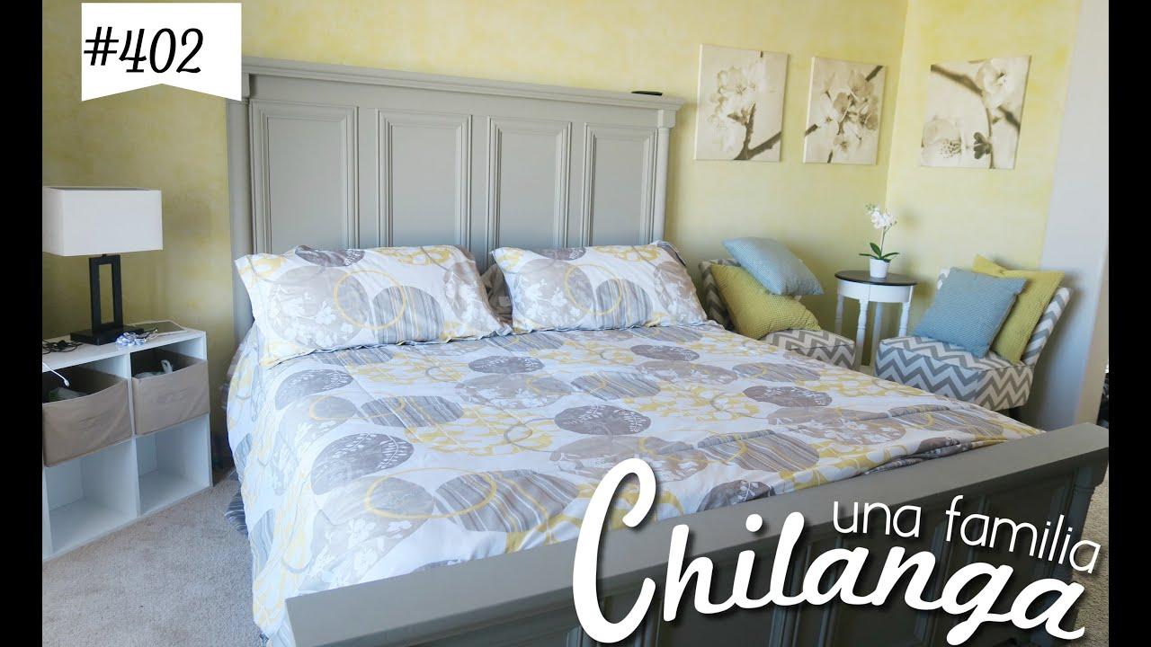"""NUEVO COLOR EN LA RECAMARA/HABITACIÓN!!! VLOGS DIARIOS #402 """"Una Familia Chilanga"""""""