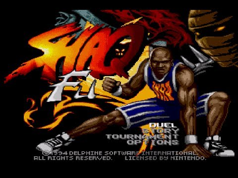 Shaq Fu - 1994 - Super Nintendo - Gameplay