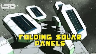 Space Engineers - Rotors Transmit Electricity & Folding Solar Panels
