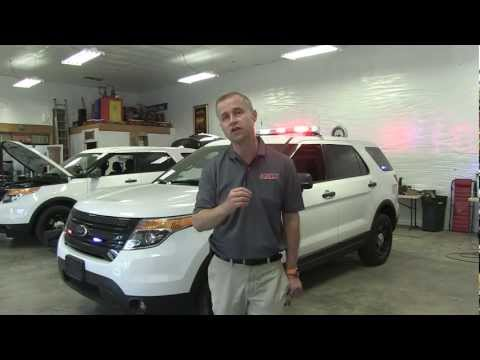 Ford Explorer Police Interceptor SUV K9 Unit Install