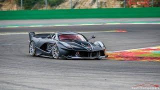Ferrari FXX K #98 FLATOUT on Spa-Francorchamps !