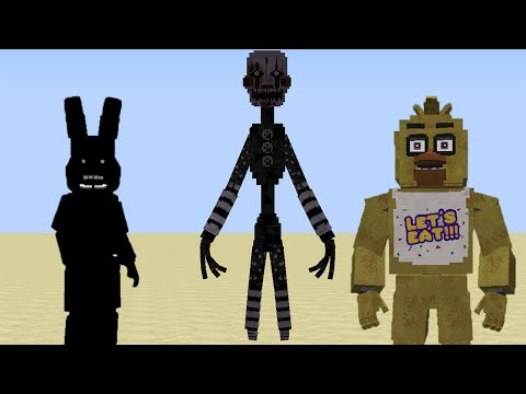 Minecraft Korkunç Mod FNaF - Five Nights at Freddy's
