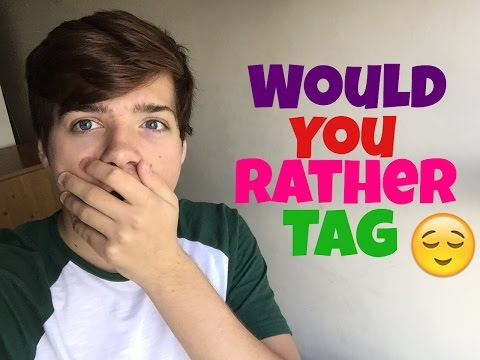 Would You Rather Tag Evan Morrison