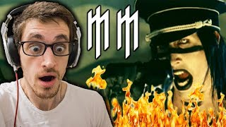 Download Lagu Hip-Hop Head Reacts to MARILYN MANSON: The Fight Song REACTION Gratis STAFABAND