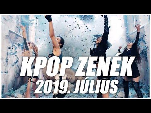 [TOP 50] KPOP ZENÉK I 2019. JÚLIUS