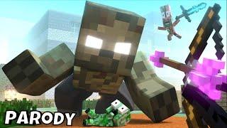 Monster School : ZOMBIE APOCALYPSE ATTACK - Minecraft Animation