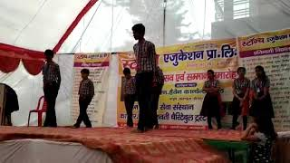 Dance on jalwa song by B.N. Heaven Convent School