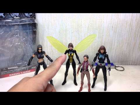 Wasp Marvel Infinite Series 3 75 inch Toy Review