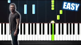 Download Lagu Maroon 5 - Girls Like You - EASY Piano Tutorial by PlutaX Gratis STAFABAND