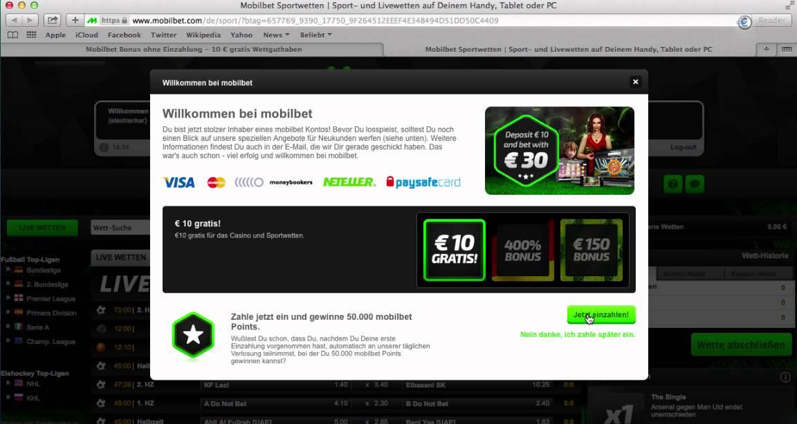 online sportwetten bonus ohne einzahlung