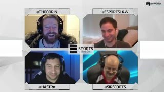 Esports Salon Ep 2: WESA and LCS spots (feat. Bryce Blum, SirScoots and hastr0)