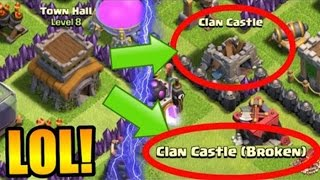 8 ТХ БЕЗ КЛАН КАСТЛА ШОК Clash of Clans