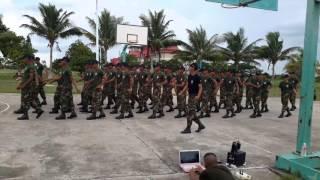 Army dancing   khmer dancing   soldier dancing   BTV 8