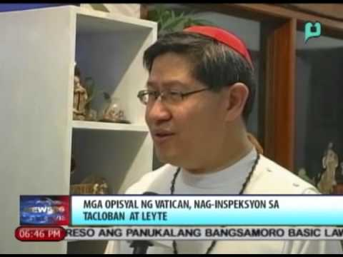 News@6: Mga opisyal ng Vatican, nag-inspeksyon sa Tacloban at Leyte || July 7, 2014