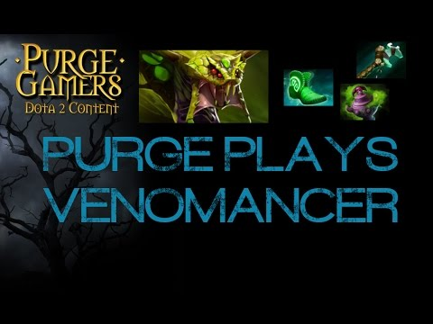 Dota 2 Purge plays Venomancer