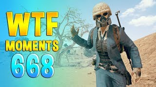 PUBG WTF Funny Daily Moments Highlights Ep 668