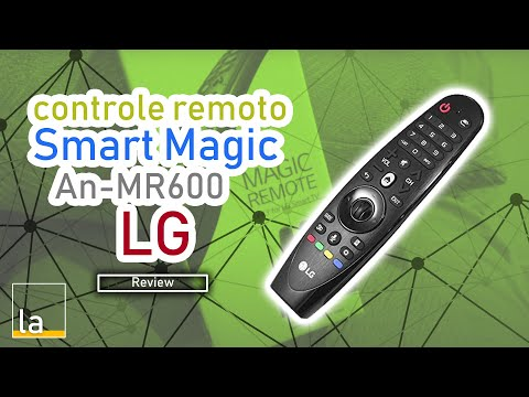 Review Controle Remoto Smart Magic LG An-mr600 TV 43Lf6350