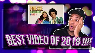 Download Lagu Bruno Mars - Finesse (Remix) [Feat. Cardi B] [Official Video] REACTION!! Gratis STAFABAND