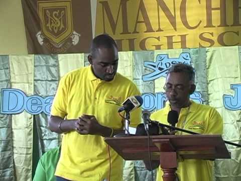 Deaf Sports Jamaica National Sports Day Mandeville 2011