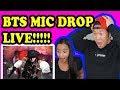 BTS -  MIC DROP - BTS COMEBACK SHOW LIVE REACTION!!!!
