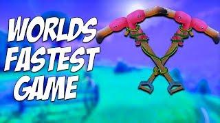 Fortnite WORLDS FASTEST Squads Game! 37 Kills! Fortnite Battle Royale BR
