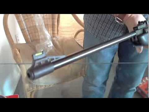 Air rifle unboxing - .22 cal Crosman Phantom