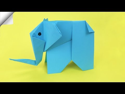 Origami elephant | Paper crafts FOR KIDS