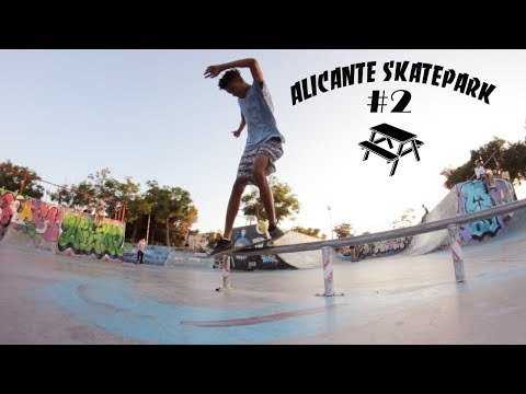 ALICANTE SKATEPARK #2 |PICNIC SKATESHOP|