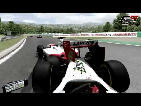 rFactor F1 2012 Formula SimRacing - Round 07. Hungary