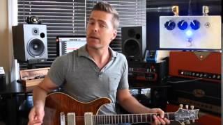 Truetone (Visual Sound) Custom Shop Overdrive demo by Shawn Tubbs
