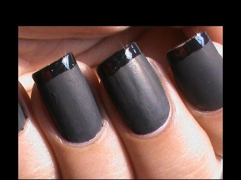 matte nail polish designs diy