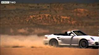 VW Beetle Dropped from Helicopter Vs Porsche in 1 Mile Race Against Gravity! - Top Gear - BBC Two