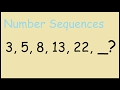 3,5,8,13,22 - Number Sequences