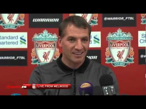 Brendan Rodgers Pre Crystal Palace Press Conference
