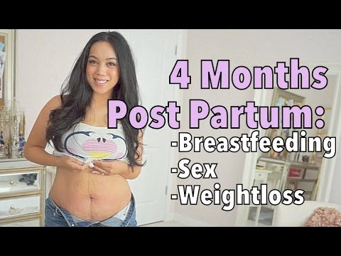 4 Month Postpartum Update - Breastfeeding, Sex, Weightloss - Itsmommyslife video