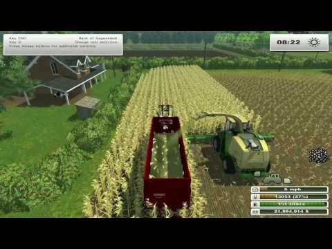Farm Sim Saturday  growing crops for the cows