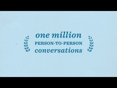 Jim Messina: One Million Person-to-Person Conversations - Obama For America