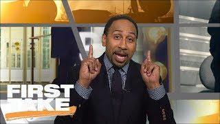 Stephen A. Smith Goes Berserk Defending Nick Saban | First Take | ESPN