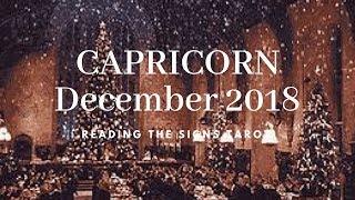 *CREATING A WHOLE NEW WORLD* CAPRICORN DECEMBER 2018 TAROT & HOROSCOPE
