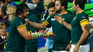 South Africa v Argentina - Match Highlights and Tries - RWC 2015
