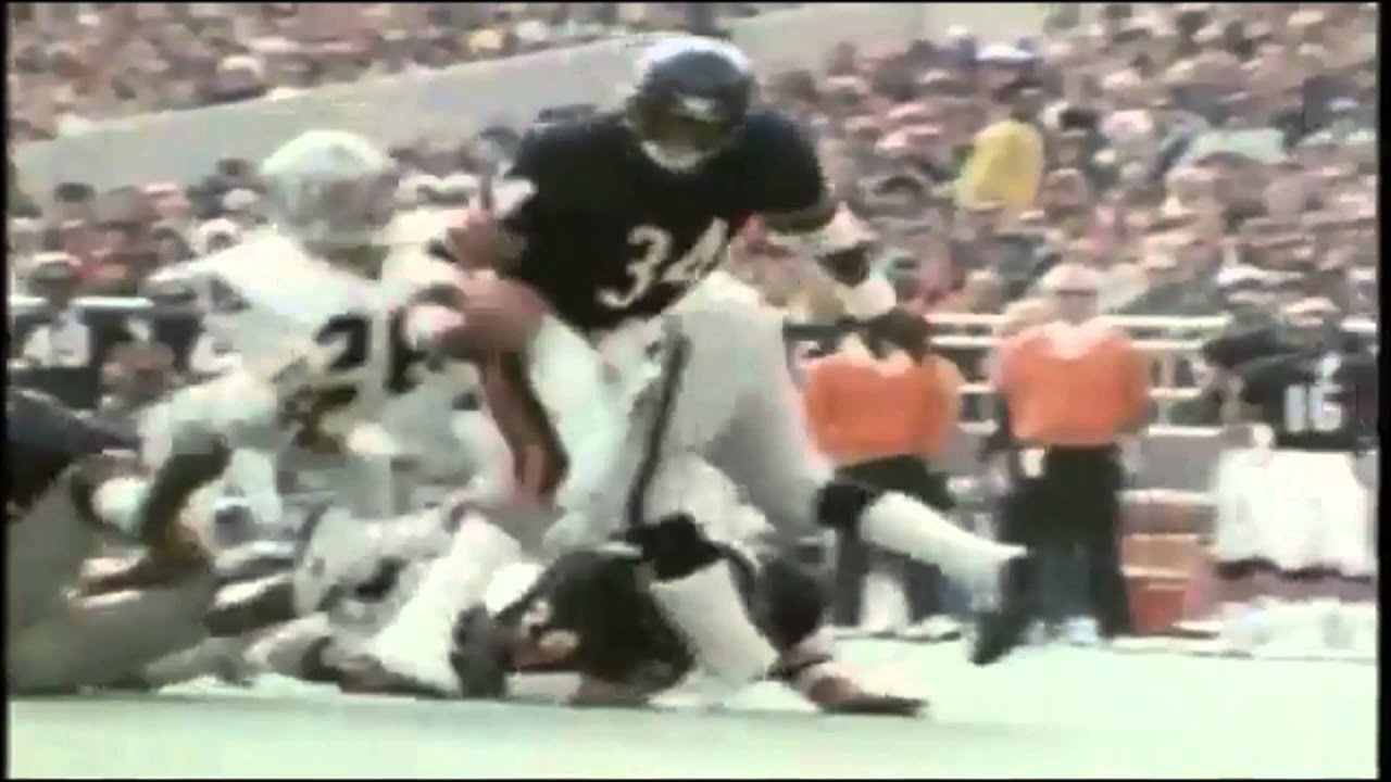 walter payton highlights youtube
