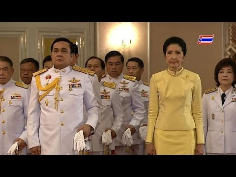 Thai king endorses coup leader as prime minister