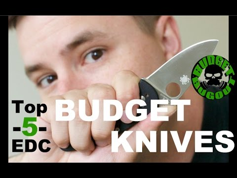Best Budget EDC [Everyday Carry] Knives Under $30