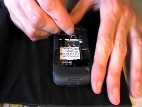 Smontaggio Blackberry 8520 curve