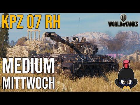 World of Tanks   Medium Mittwoch im Kampfpanzer 07 RH auf Kloster